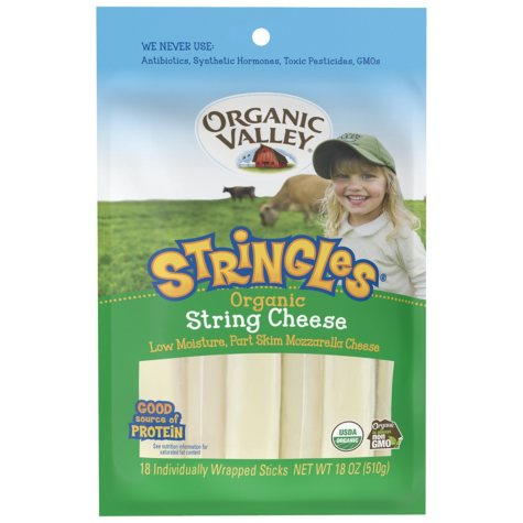 Organic Valley Mozzarella Stringles (18 ct.)
