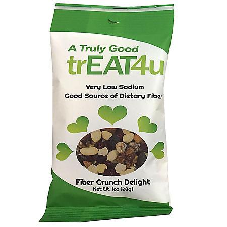 TrEAT4u Fiber Crunch Delight (1 oz., 24 pk.)