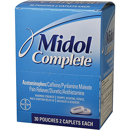 Midol Complete (30 pouches, 2 caplets each)