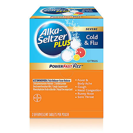 Alka Seltzer, 30 Pouches of 2 Caplets Each