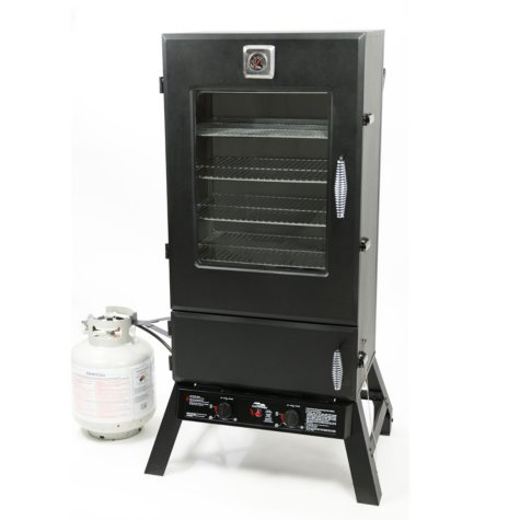Masterbuilt 44-Inch Gas Smoker with Cover and Pack-Ins