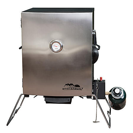 Masterbuilt Portable Gas Smoker with Stainless Steel Door