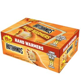 HotHands Hand Warmers (36 Pairs)