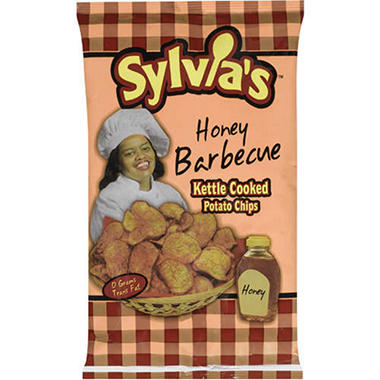 Sylvia's™ Honey Barbecue Kettle Chips - 12oz