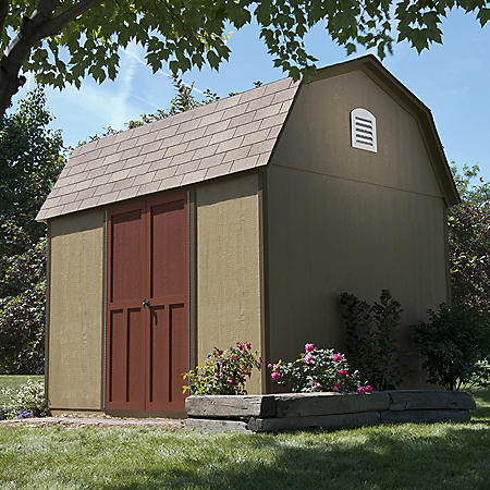 Handy Home Products Bristol 8' x 10' Wood Storage Shed