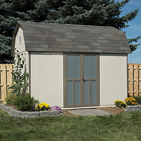 Handy Home Products Bristol 8' x 12' Wood Storage Shed