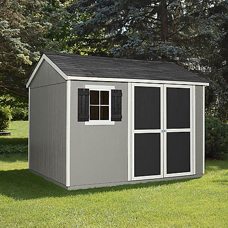 Handy Home Products Brookhaven 10' x 8' Wood Storage Shed
