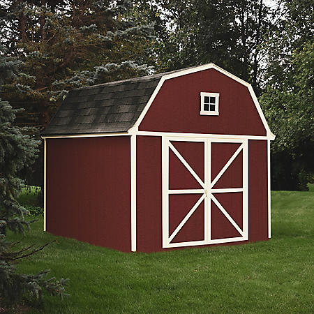 Handy Home Products Westbury 10' x 10' Wood Storage Shed