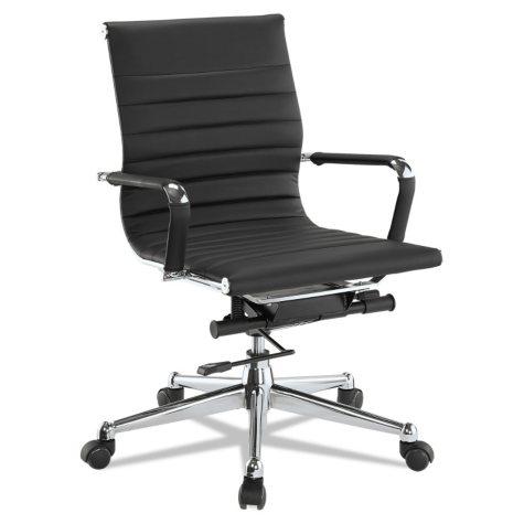 DMi Pantera Series Low-Back Desk Chair, Black
