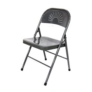 4-Pk. Shin Crest Decorative Metal Folding Chair
