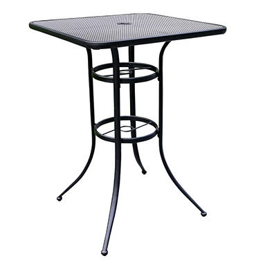 Commercial Wrought Iron Bar Table