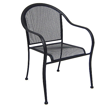 Wrought Iron Commercial Bistro Chair