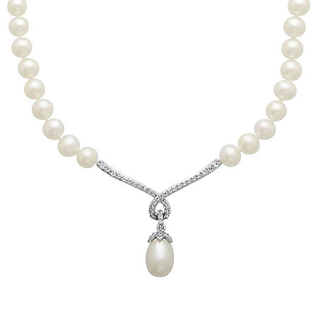 FWC PEARL NECK .18TW DIAMOND- 925