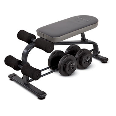 Marcy Crunch Board plus 40 lb. Dumbbell Set