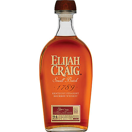 +ELIJAH CRAIG 750ML 12 YR OLD BOURBON