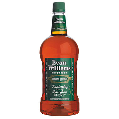 Evan Williams Kentucky Straight Bourbon, Green Label (1.75 L)