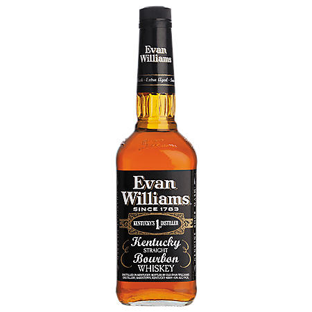 Evan Williams Black Label Kentucky Bourbon Whiskey (1 L)