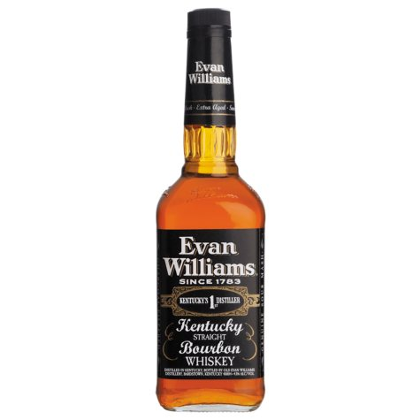 Evan Williams Black Label Kentucky Bourbon Whiskey (1 L)