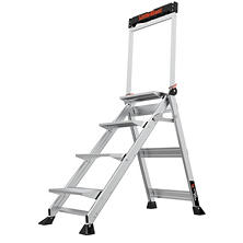 Little Giant Ladder Systems Jumbo Step 4-Step Step Stool