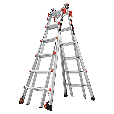 Little Giant Ladder Velocity Model 26 Multi-Use Ladder Type 1A