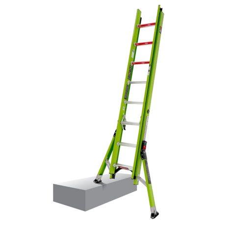 Little Giant Ladder Systems HyperLite SumoStance 16' Fiberglass Extension Ladder
