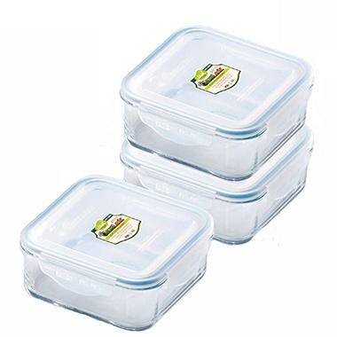 GlassLock Food Storage Container Set - 6 pc.