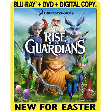 Rise Of The Guardians (Blu-ray + DVD + Digital Copy) (Widescreen)