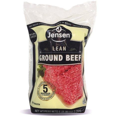 Jensen Ground Beef (1 lb. ea., 5 ct.)