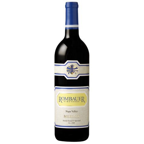Rombauer Vineyards Merlot Napa Valley (750 ml)