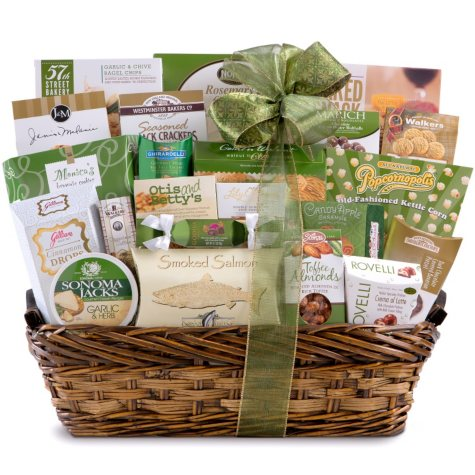 Gourmet Willow Gift Basket