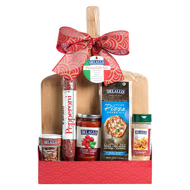 DeLallo Pizza-Making Gift Set