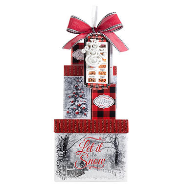 Cityscapes Tower of Treats Gift Set