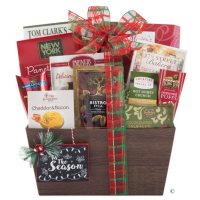 Spirit of the Holidays Gift Basket