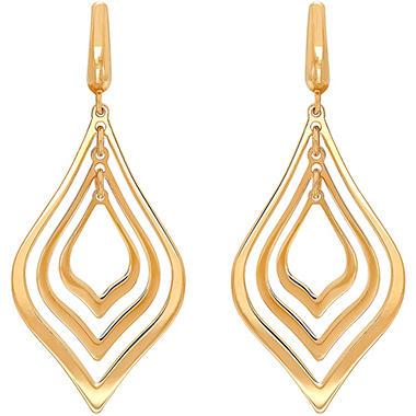 Pear Orbital Earrings In 14k Yellow Gold Sam S Club