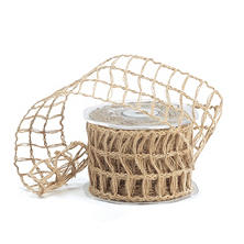 Open-Weave Jute Wired Ribbon - Natural (10 yds., 3 ct.)
