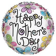 "Mother's Day 17"" Foil Balloon (24 pc.)"