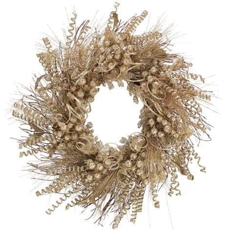 "28"" Champagne Wreath"
