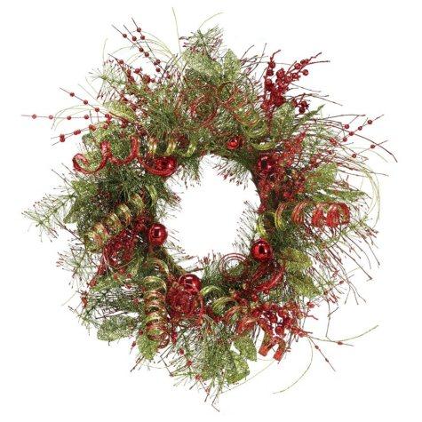 "27"" Glitter Wreath"