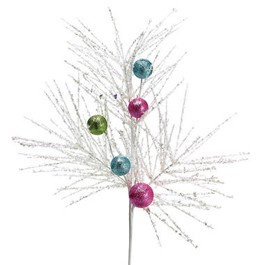Frosty Ball Floral Spray Pick (6 pk.)