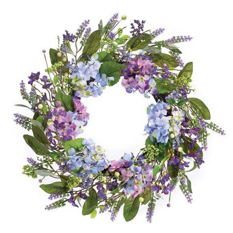 "21"" Hydrangea Wreath"