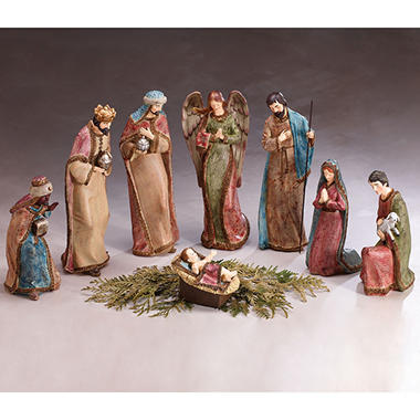 8-Piece Nativity Scene