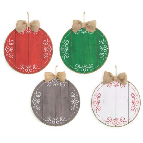 Round Ornament Wall Hanging