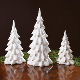 White Tree Figurines