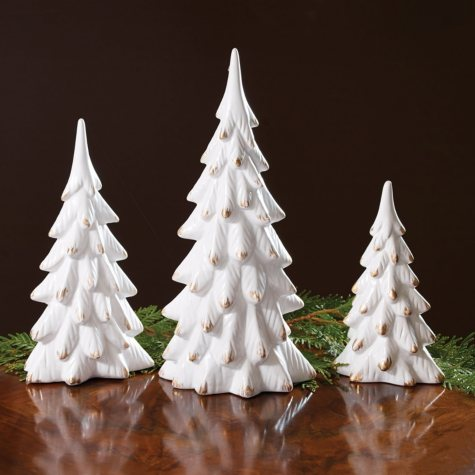 White Tree Figurines
