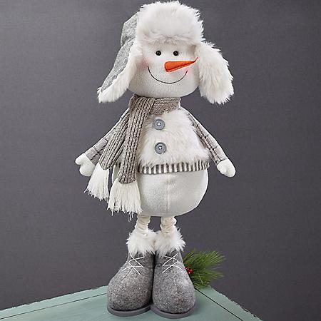"""Décor 32"""" Snowman Figure"""