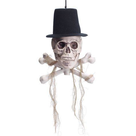 Animated Hanging Skull, Set of 3