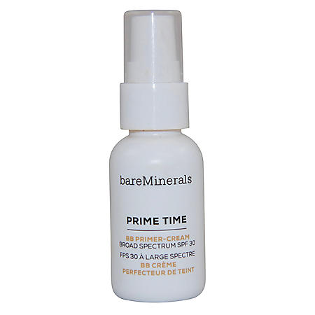 bareMinerals Prime Time BB Primer-Cream in Light or Medium Shade (1 fl., oz.)