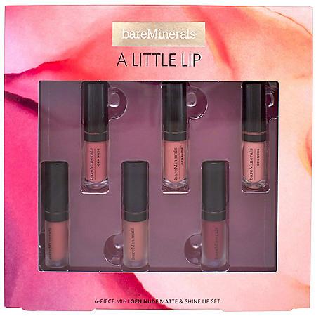 bareMinerals A Little Lip, 6-Piece Set