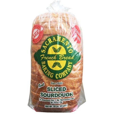 Sacramento Baking Company Sliced Sourdough Bread (32 oz.)