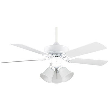 Concord by Luminance 42 in. Heritage Home Ceiling Fan (White)